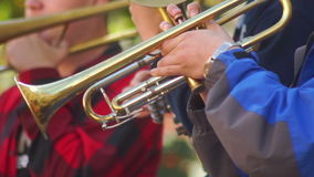 Musikstraßen-Jazzkunst stock video