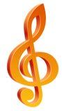 Musiksymbol lizenzfreie abbildung