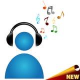 Musiksymbol Royaltyfria Foton