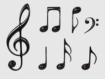 Musiksymbol Lizenzfreie Stockbilder