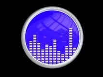 musiksymbol Arkivbilder