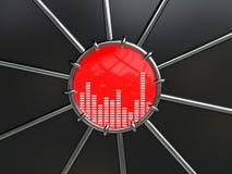 musiksymbol Royaltyfri Foto