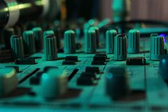 Musiksystem royaltyfria foton