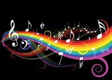 musiktema Arkivbild