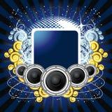 musiktema Royaltyfria Bilder