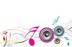 Musikthema Lizenzfreie Stockbilder