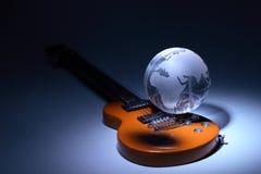 musikvärld Royaltyfri Fotografi