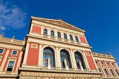 musikverein维也纳 库存照片