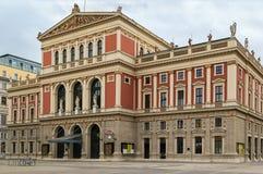 musikverein Βιέννη Στοκ φωτογραφίες με δικαίωμα ελεύθερης χρήσης
