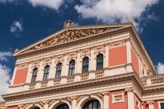 Musikverein Βιέννη Στοκ Φωτογραφία