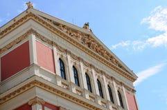 Musikverein, Viena Fotografia de Stock Royalty Free