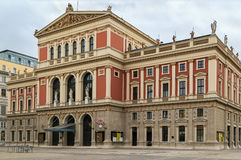 Musikverein, Vienna Fotografie Stock Libere da Diritti