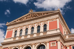 Musikverein Vienna Stock Photography