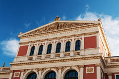 Musikverein Vienna Stock Photos