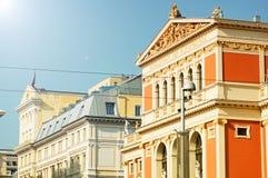 Musikverein Wenen royalty-vrije stock afbeeldingen