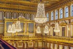 Musikverein Wien Royaltyfri Fotografi