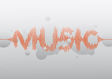 Musikwelle Lizenzfreie Stockfotografie