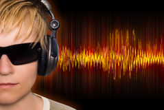 Musikwellen vektor abbildung