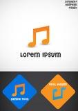 Musikzeichen Lizenzfreie Stockfotos
