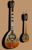 Musikzeichenketteinstrument Stockfotografie