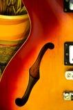 我吉他的musima 免版税图库摄影