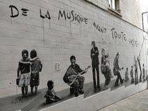Musique Брюсселя стоковые фотографии rf