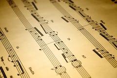 Musique Photographie stock