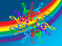 Musique Image libre de droits