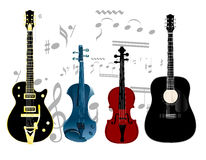 Musique Images stock