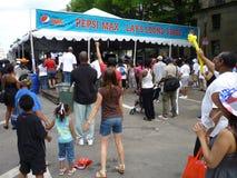 Musique au festival de nourriture Photo libre de droits