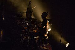 Musique Boris Drummer Theatre Concert photo libre de droits