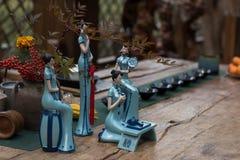 Musique chinoise Kabuki Images libres de droits