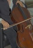 Musique classique étant vivant joué Image libre de droits