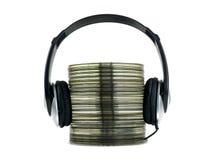Musique compacte Images libres de droits