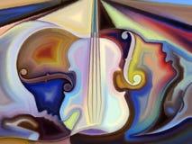 Musique conceptuelle Images stock