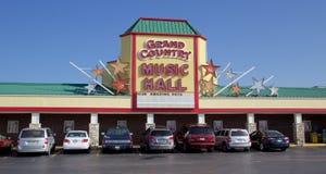 Musique country hall grande, Branson Missouri Photographie stock