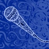 Musique country - microphone Photo stock