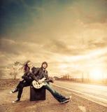 Musique d'autoroute Photo libre de droits