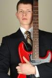 Musique d'homme d'affaires Photo libre de droits