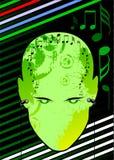 Musique dans la tête Image libre de droits