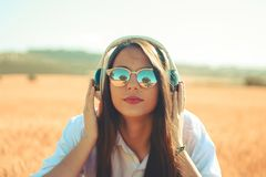 Musique dans ma vie images libres de droits