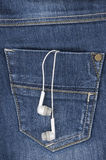 Musique dans votre poche Photos stock