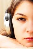 Musique de écoute Image libre de droits