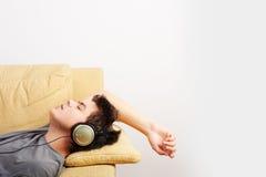 Musique de écoute Photo libre de droits