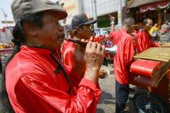 Musique de chinois traditionnel Photographie stock libre de droits