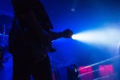 Musique de concert de rock images stock