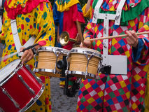 Musique de Cranival de samba de Rio Brésil Image libre de droits