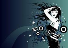 Musique de durée Images libres de droits