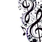 musique de fond Images stock