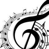 musique de fond illustration stock